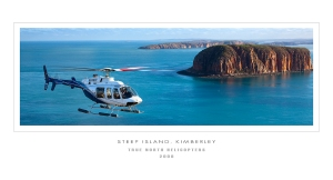 heli steep island